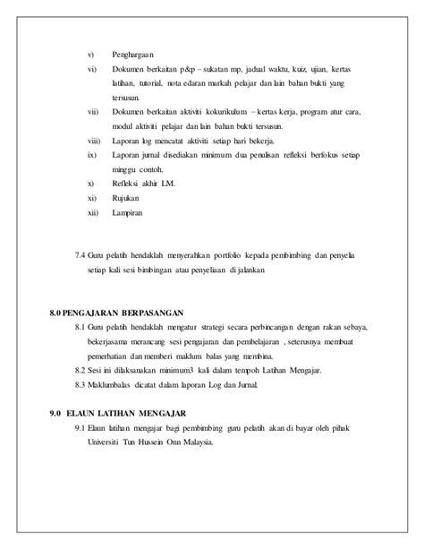 format laporan mengajar format buku persediaan mengajar 1