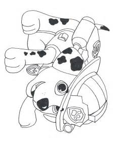 Paw patrol stampe colouring pages
