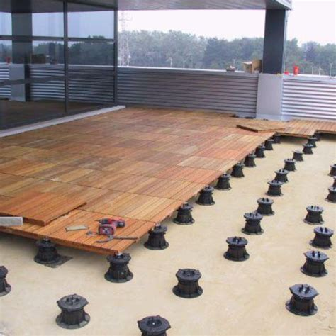 Wood Patio Flooring by Ipe Outdoor Structural Wood Deck Tiles