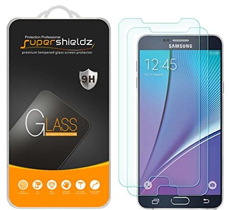 Samsung Note 2 Tempered Glass Screen Protector Anti Gores Kaca 2 pack samsung galaxy note 5 tempered glass screen