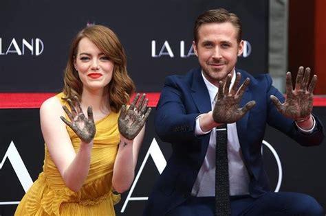 Emma Stone Y Ryan Gosling Peliculas | emma stone y ryan gosling eternizan sus huellas en el
