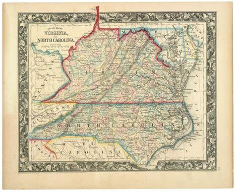 virginia and carolina map virginia s many counties boundary stones weta s