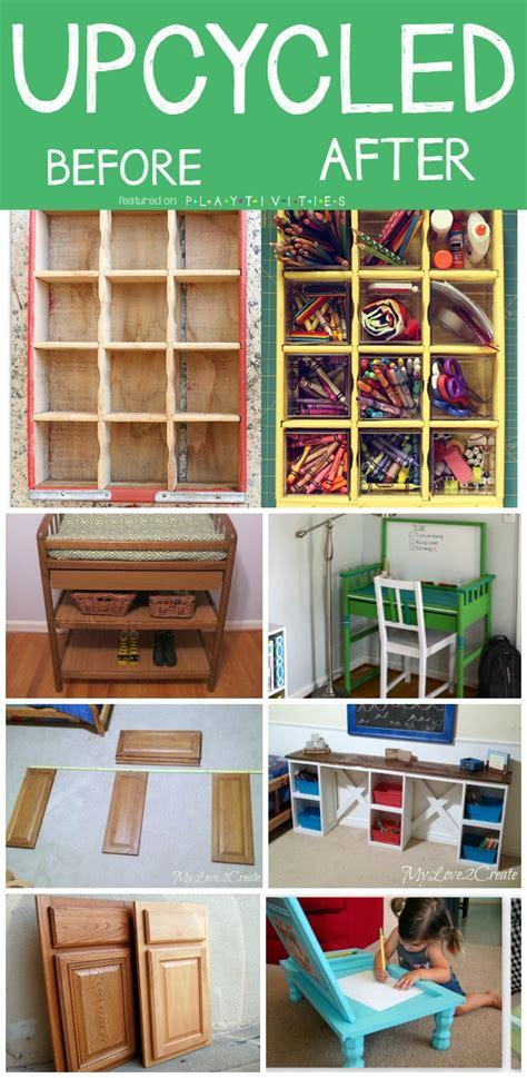 Repurposing Old Furniture. Kid friendly ideas   PLAYTIVITIES