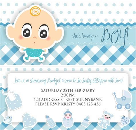 Baby Shower Invitation Card Ideas by Ideas For Cheap Boy Baby Shower Free Printable Baby