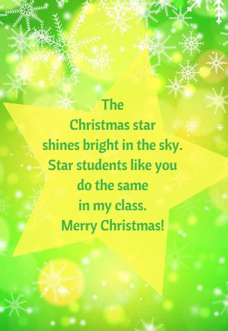 christmas messages  teachers  students christmas messages christmas card  teacher