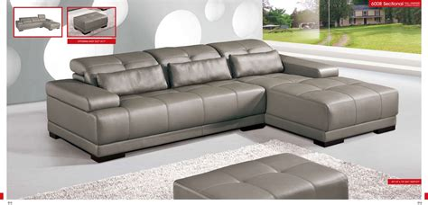 Leather Sectional Living Room Furniture by Esf 6008 Sectional Royal Furniture Outlet 215 355