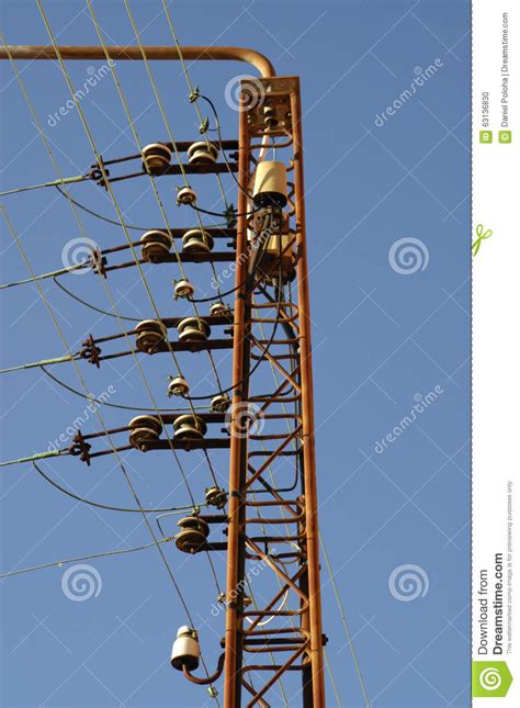electricity wires stock photo image 63136830