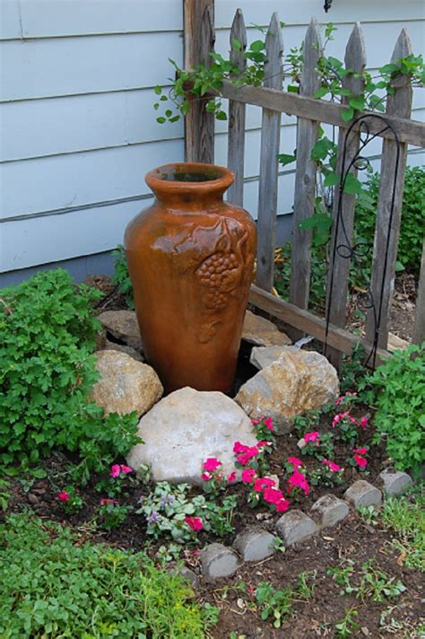 diy backyard fountain top 10 ideas how to transform your backyard in paradise