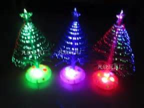 electronic christmas tree activities installed optical
