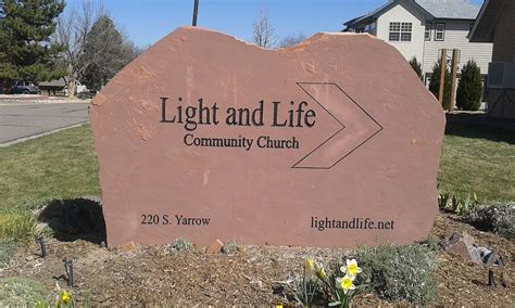 light and life church file light and life community church sign lakewood co