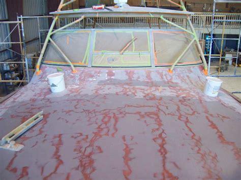 gel coating a fiberglass boat emerald coast yacht refinishing panama city destin
