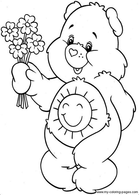 share bear coloring page 81 share bear coloring page share bear coloring
