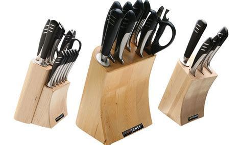 top 10 cutlery sets top chef 15piece knife set with block top chef knife sets 5 9 or 15 piece groupon