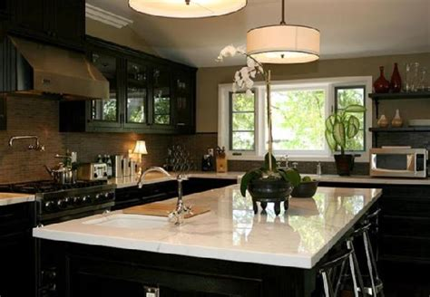 dark cabinet kitchen ideas dark brown kitchen cabinet ideas kitchenidease com