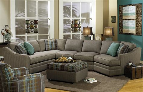 sofa with cuddler sectional craftmaster f9 custom collection customizable 3 piece