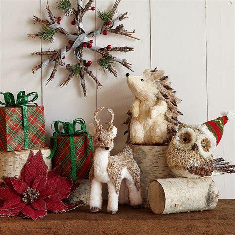 woodland wonderland christmas decor cabin christmas