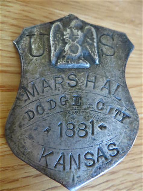furniture stores in dodge city ks dodge city kansas marshall badge 1881 the real mccoy