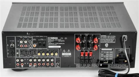 yamaha htr  av receiver  watt  channel stereo