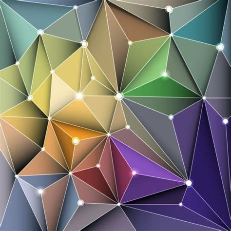 pattern triangle vector triangle geometric pattern vector