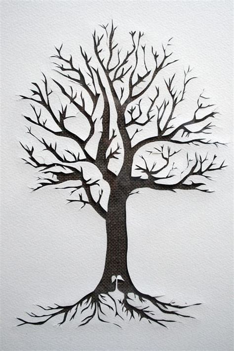 silhouette tattoo paper uk 129 best images about fa on pinterest trees a tree and