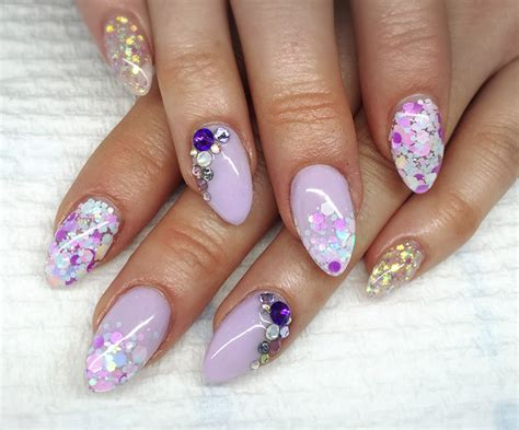 Nail Producten by How To Pastel Purple Acrylic Nails Feat Tones Products