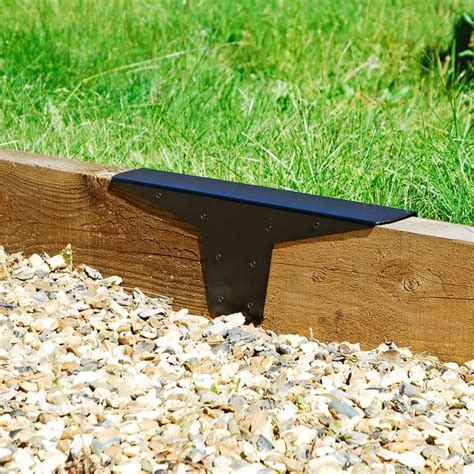 Joining Railway Sleepers by Heavy Duty 7x3 Quot Timber Railway Sleeper Joining Plate