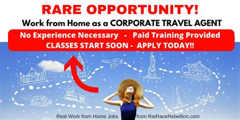 work from home as a travel paid provided