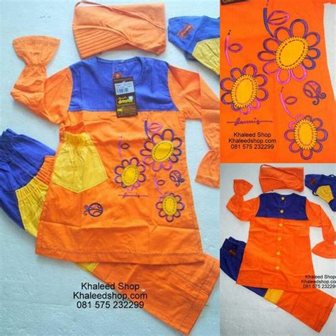 Muslim Anak Cewek 5 baju muslim anak cewek p5g23 size 5 anak cewek untuk usia 5 6 tahun idr 219 000 10 gt gt idr