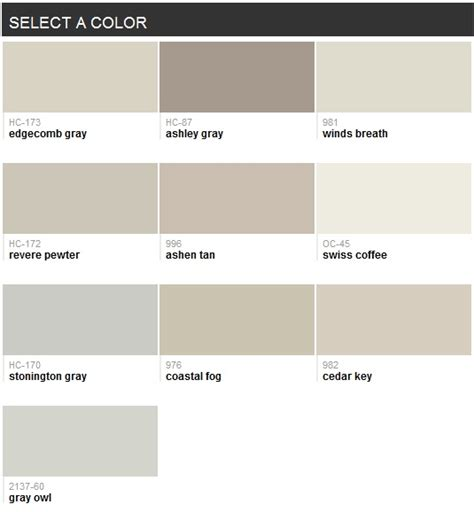 best selling paint best selling grays benjamin moore color pinterest