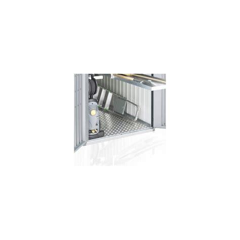 pavimenti in metallo pavimento in alluminio per minigarage in metallo biohort
