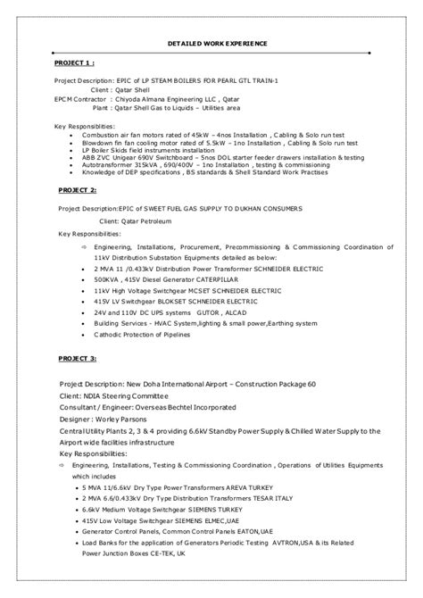 Senior Quality Engineer Sle Resume Engineers Resume Sle 28 Images System Engineer Resume