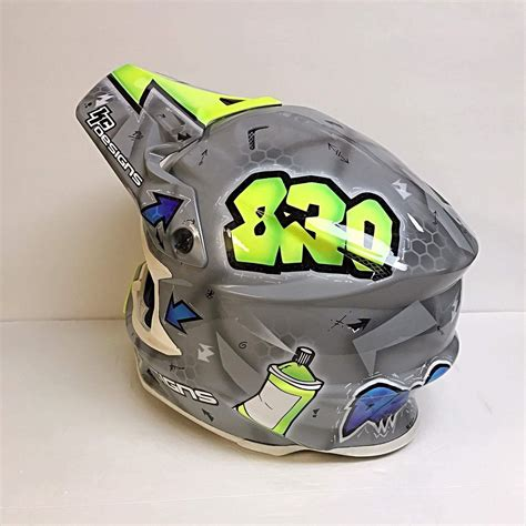 custom motocross helmet painting custom helmet painting moto related motocross forums