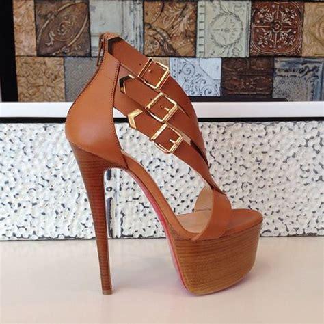 gorgeous high heel shoes gorgeous christian louboutin strappy platform high heel