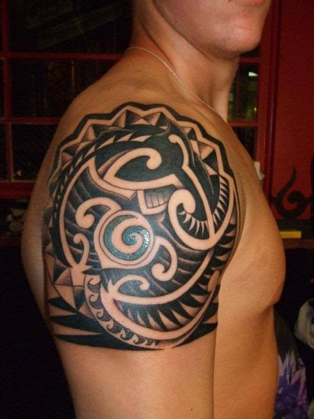 tattoo tribal op been tribal shoulder tattoos hood rich body art salon