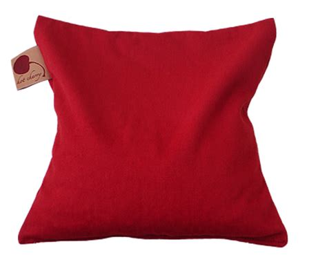 Therapeutic Pillow by Cherry 1d Square Denim Therapeutic Pillow