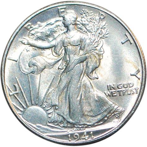 5 dollar fashion locations us walking liberty half dollar unc coin 1941 d from