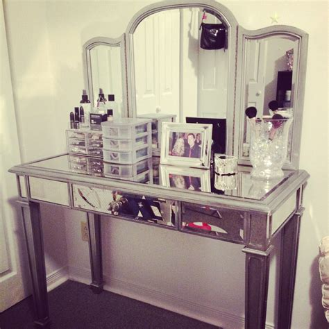 mirrored bedroom vanity hayworth vanity appliances furniture pinterest