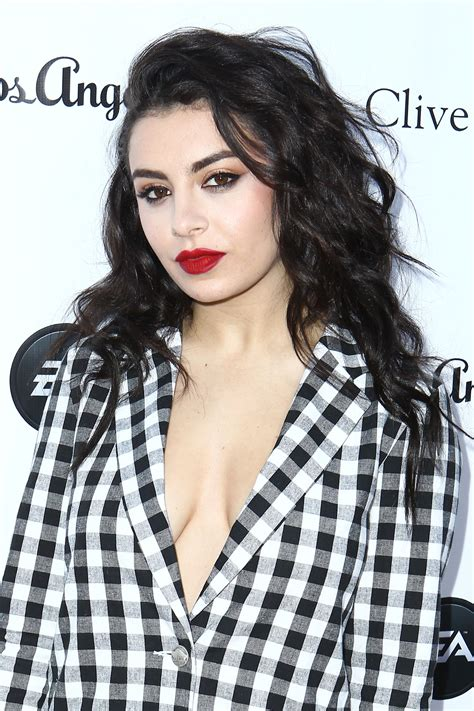 charli xcx haircut singer shows and