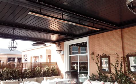 Restaurant Patio Heater Infratech Outdoor Electric Heaters Nz Superior Heat