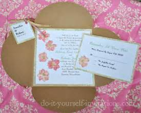 make your own wedding invitations tips printables and diy tutorials