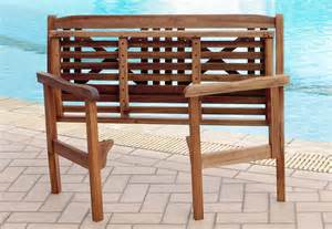 bench folding norfolk leisure lucia folding bench wooden garden bench