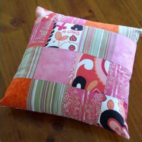 cuscini patchwork come fare un cuscino patchwork