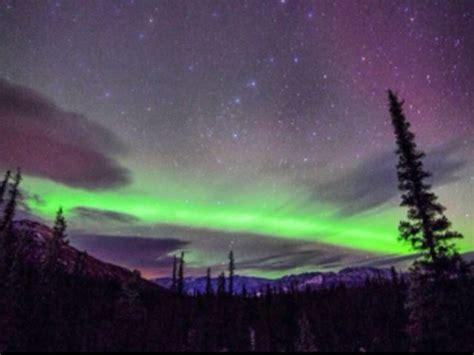 denali national park northern lights northern lights splash alaska sky kxan com