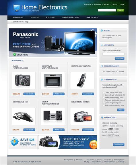 magento themes electronics store electronics store magento theme 35459