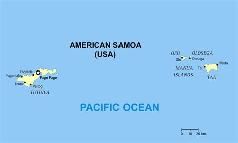american samoa map political map of american samoa american samoa political map vidiani maps of