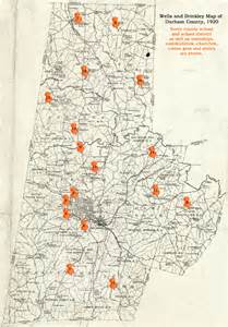 map of the schools the who ran the schools the
