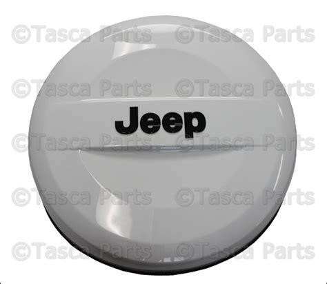 Spare Tire Covers For Jeep Wrangler New Oem Mopar Bright White Spare Tire Cover 2014 Jeep