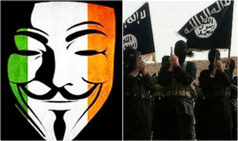 hacker group indians join war on isis hacker group anonymous says