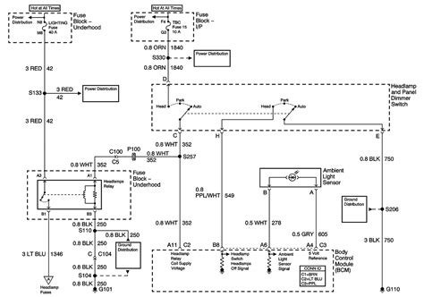 2005 chevy trailblazer wiring diagram 2005 chevy trailblazer headlight wiring diagram