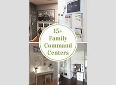 Family Command Centers - The Idea Room Round White